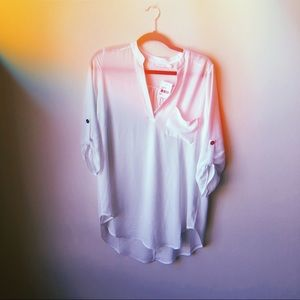 white tunic | LUSH